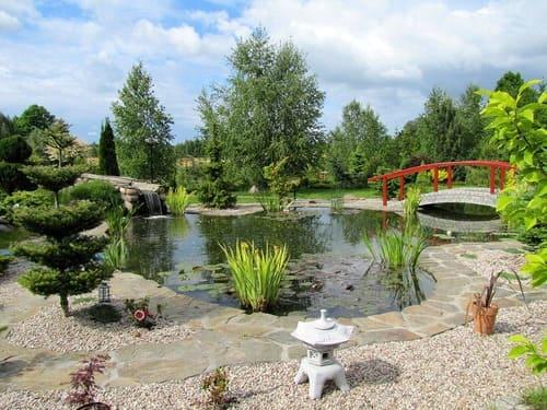 Jardin Japonais Chez Soi jardin japonais : comment faire un jardin zen ? arbuste, idées, photos