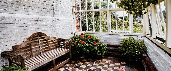 jardin veranda bois