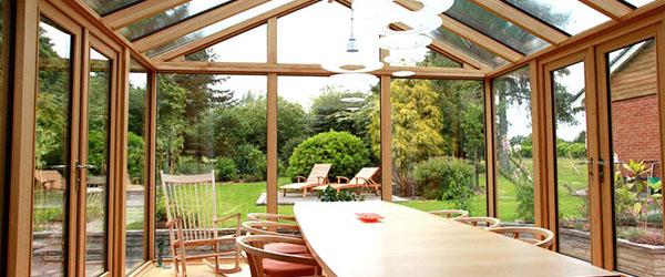 modele de veranda bois