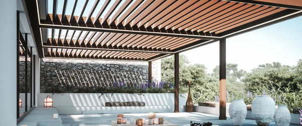 pergola bioclimatique retractable