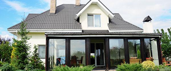 prix veranda gris