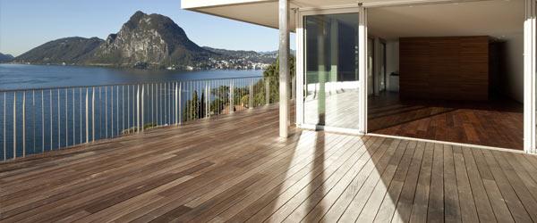 terrasse en bois design