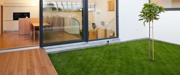 terrasse en bois moderne